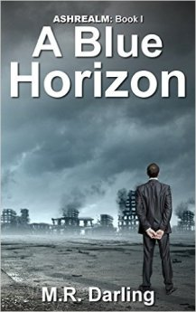 A blue horizon book cover